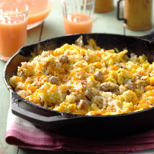 Mountain Man Breakfast Scramble