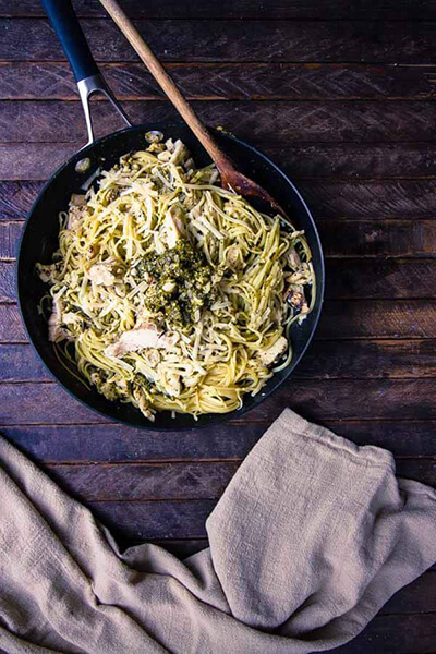easy-pesto-linguine